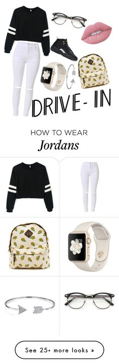 """""""date night/drive ins"""" by babyyyyygirlllll on Polyvore featuring Lime Crime, Bling Jewelry, NIKE, DateNight, drivein and summerdate"""