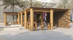 Shigeru Ban Does Cardboard Again With Abu Dhabi Pavilion