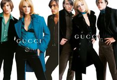 #Gucci Tom Ford (one of my fav collections!) Amber Valletta for Gucci A/W 1995 Mario Testino