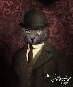 PERSONALIZE CAT portrait Custom Cat Portrait / by CustomPetPrints