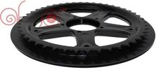 Free Shipping Ebike BBS01 BBS02 BAFANG/8fun ChainWheel and Replacement Chain Guard Black 48T 52T For Electric Bicycle