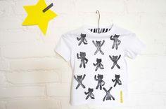 T-shirt hand printed Printed, Mens Tops, T Shirt, Fashion, Supreme T Shirt, Moda, Tee Shirt, Fashion Styles, Prints
