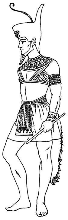 Одежда Древнего Египта. Картинки