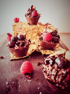 A chocolate treat that can't be beat!! Why not try these delicious chocolate pots!!