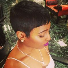African Hair Cut Style Brazilian Ladies Wigs For Black Women Cheap african hair cut style - Hair Cutting Style Short Sassy Hair, Short Pixie, Short Hair Cuts, Short Hair Styles, Pixie Cuts, Short Black Hairstyles, Pixie Hairstyles, Haircuts, Pixie Haircut