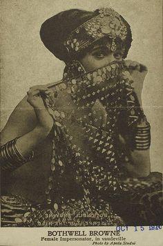 Peekaboo!  Brothwell Browne, 1910.