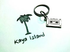 Check out this item in my Etsy shop https://www.etsy.com/uk/listing/499633836/cassette-tape-keyring-tibetan-silver