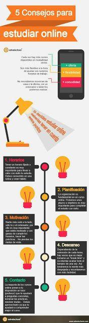 5 consejos para estudiar online