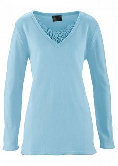 Pulover lung cu dantelă Un pulover • 109.9 lei • Bon prix