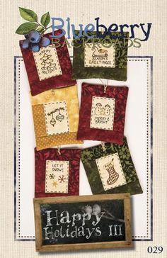 Pattern #029 - Happy Holidays III