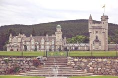 Balmoral Castle, Scotland - Purchased by Queen Victoria and Prince Albert, Balmoral has been one of the residences of the British Royal Family since 1852. It remains private property of the monarch, and is not part of the Crown Estate.