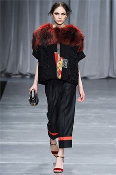 #moda  Photos and comments about the collection, the outfits and accessories Antonio Marras presented for Fall Winter 2012-13