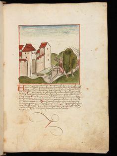 Bremgarten, Stadtarchiv Bremgarten, Bücherarchiv Nr. 2, f. 122r – Werner Schodoler, Eidgenössische Chronik, Vol. 2