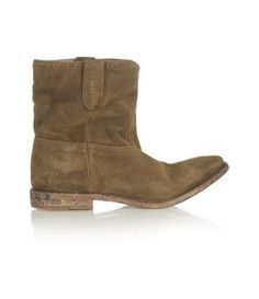 isabel marant boots (with shorts!)