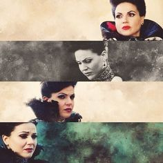"""Her Majesty, Queen Regina Mills on """"Once Upon A Time""""  Lana Parrilla •pain darkness evil•"""