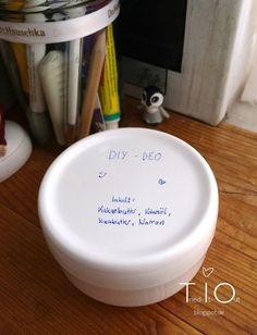 DIY-Rezept für ein wirksames, natürliches Deo!