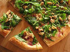 fig, arugula, walnut pizza (hush, @Jackie Neuner!)