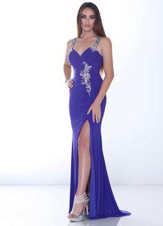 Sheath Column Evening Dress- Wishesbridal.com