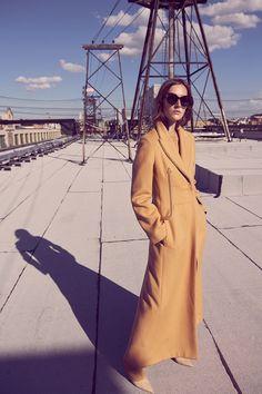 Josephine le Tutour Models Autumn Outerwear in Harper's Bazaar Germany - Fashion Gone Rogue