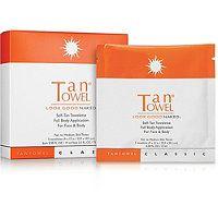 Tan Towel - Self-Tan Towelette Full Body Application For Face