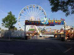Vanaf komende zaterdag kunt u de grote Akense #kermis weer bezoeken! Ferris Wheel, Germany, Fair Grounds, Travel, Viajes, Deutsch, Trips, Tourism, Traveling