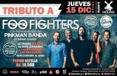 """El Molino presenta: """"PinkMan Banda – Tributo a Foo Fighters"""" http://crestametalica.com/events/el-molino-presenta-pinkman-banda-tributo-a-foo-fighters/ vía @crestametalica"""
