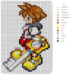 Sora Cross Stitch Pattern by H3LLoK66aren99