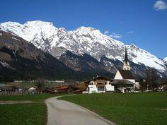 Hall in Tirol, Austria  1989  breathtaking alps, Tirol