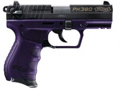 Walther PK380 Purple and Black ~ https://www.budsgunshop.com/catalog/product_info.php/products_id/719001801