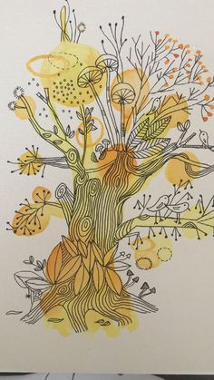 Watercolor Splatter, Abstract Watercolor, Watercolor And Ink, Watercolor Illustration, Watercolor Paintings, Watercolors, Inspiration Art, Art Inspo, Zentangle