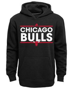 adidas Boys' Chicago Bulls Power Play Hoodie