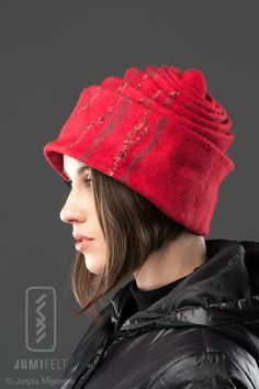 Felted Hat # Fashionable # Hat