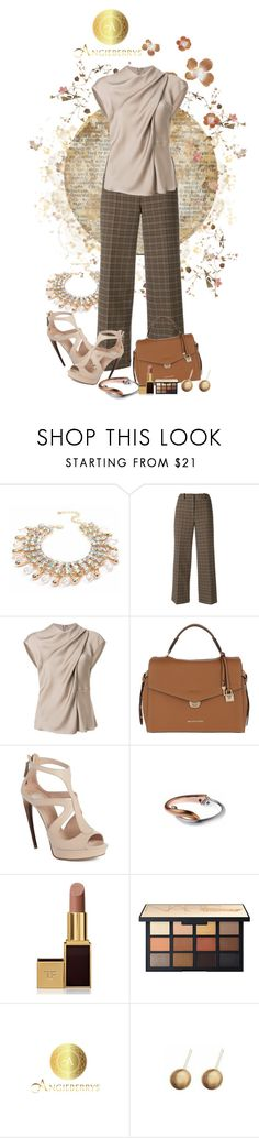 """""""AngieBerry"""" by polybaby ❤ liked on Polyvore featuring Ports 1961, Giorgio Armani, MICHAEL Michael Kors, Alexander McQueen, Tom Ford and Angieberrys"""