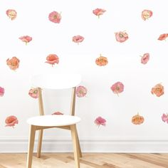 Poppy Wall Decals –