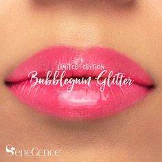 Limited Edition Bubblegum Glitter LipSense by SeneGence is a vibrant pink shade with shimmering pink glitter.  Part of the Carnival Collection, summer is a state of mind.  #carnivalcollection #summer #senegence #lipsense #bubblegumglitter #bubblegum #bubblegumglitterlipsense #summerfun