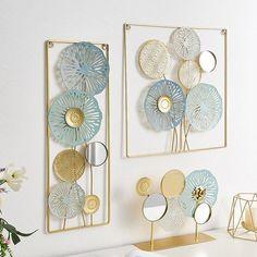 Wall Hanging Crafts, Metal Wall Art Decor, Wall Art Designs, Wall Design, Tv Decor, Home Decor, Iron Art, Metal Walls, Decor Crafts
