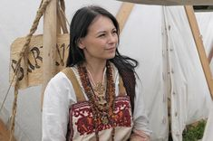 XVIII Festival Wolin 2012 Pt gallery 06 photo 16 by ~Wikingowie on deviantART Really like the embroidery.