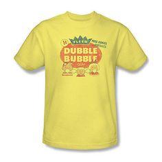 e6fd1417 Dubble Bubble T-shirt retro 1980's candy gum 100% cotton graphic tee DBL10 -