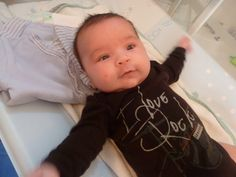 #citizenkid | I was born to rock ! Enzo, 2 mois