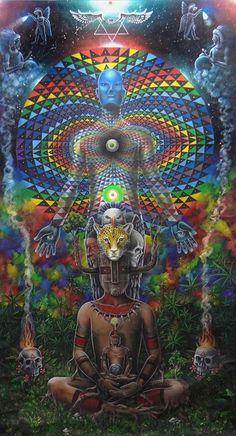 trippy meditation
