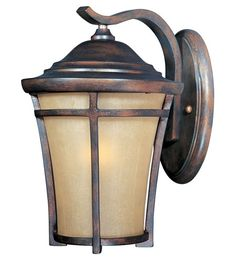 Outdoor Lighting Fixtures Wall Mounted | Outdoor Wall Mount in Copper Oxide 40163GFCO | Maxim Lighting Lights ...