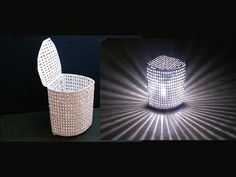 (6) How To Make Paper Basket / Lamp Shade (2 in 1) - YouTube