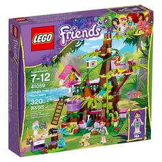 Lego Friends Jungle Tree Sanctuary 41059