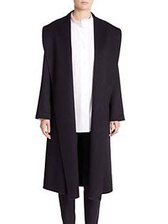PAUW - Open-Front Cashmere Coat