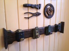 Homemade Coat Rack homemade coat rack with old door knobs | projects | pinterest