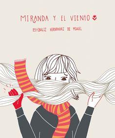 Miranda y el viento, de Estíbaliz Hernández de Miguel, incluído en Batiscafo en el mar.