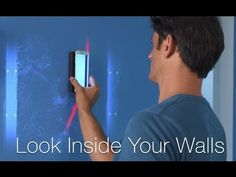 Walabot DIY, A Tool That Lets Users Digitally See Through Walls to Find Studs, Pipes, Wires, and More
