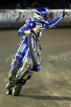 No.7 Matej Zagar (SVK) Cafe Racing, Dirt Track Racing, Road Racing, Speedway Grand Prix, Speedway Racing, Speedway Motorcycles, Racing Motorcycles, Bike Rider, Dirtbikes