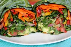 Enjoy a burrito recipe without all the unhealthy, heavy fillings with this 100% raw version.