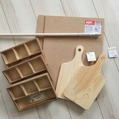 Recipe step image I *thought* those ends looked like cutting boards! Toilet Roll Holder Uk, Recycled Crafts, Diy And Crafts, Bbq Shop, Bathroom Floor Plans, Craft Show Displays, Craft Room Storage, Recipe Steps, Diy Wall